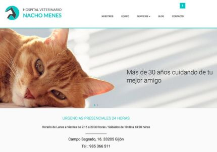 Hospital veterinario Nacho Menes